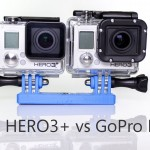 Test comparatif GoPro Hero3+ vs Hero3 Black (en)
