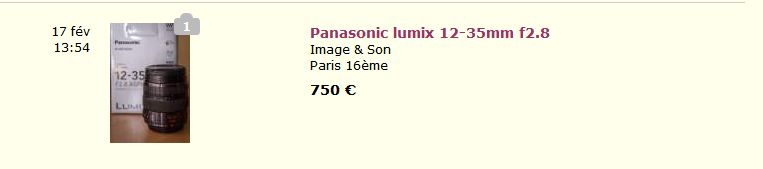 Panasonic 12-35mm